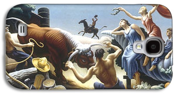 Achelous And Hercules Galaxy S4 Case by Thomas Benton