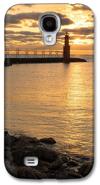 Across The Harbor Galaxy S4 Case