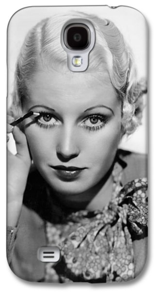 Actress Curls Her Lashes Galaxy S4 Case by Underwood Archives
