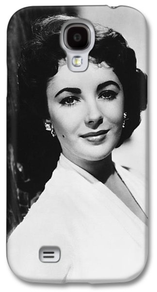 Actress Elizabeth Taylor Galaxy S4 Case by Underwood Archives