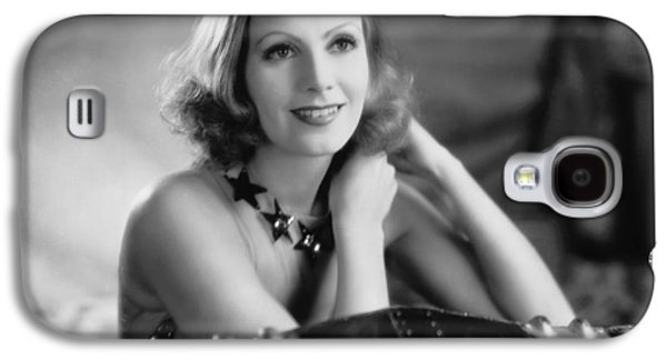 Actress Greta Garbo Galaxy S4 Case by Underwood Archives