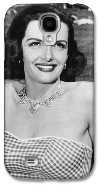 Actress Jane Russell Galaxy S4 Case