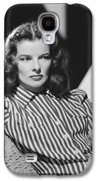 Actress Katharine Hepburn Galaxy S4 Case