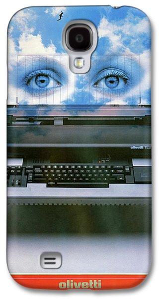 Ad Typewriter, C1975 Galaxy S4 Case by Granger