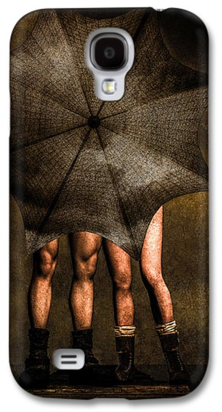 Adam And Eve Galaxy S4 Case by Bob Orsillo