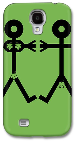 Adam And Eve Icon Galaxy S4 Case by Thisisnotme