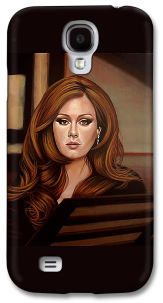 Adele Galaxy S4 Case by Paul Meijering