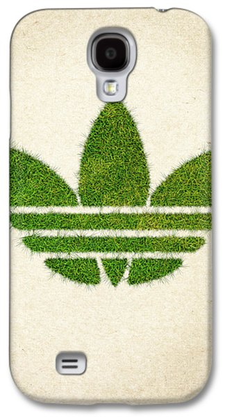 Adidas Grass Logo Galaxy S4 Case by Aged Pixel