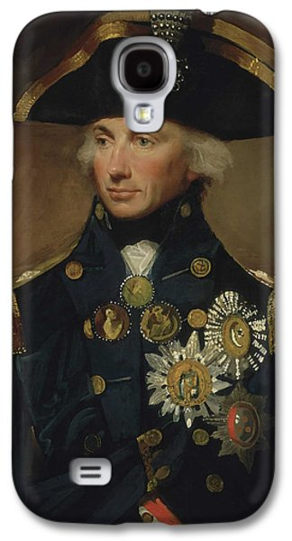 Admiral Horatio Nelson Galaxy S4 Case by War Is Hell Store