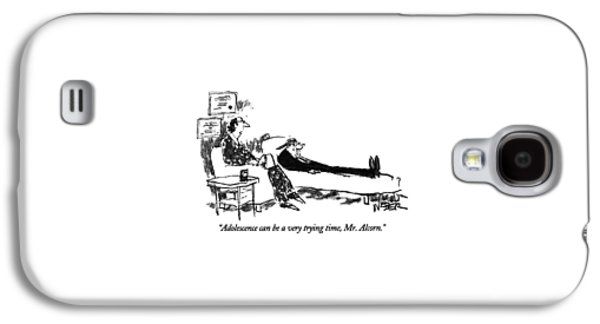 Adolescence Can Be A Very Trying Time Galaxy S4 Case