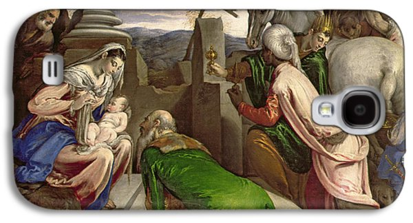 Adoration Of The Magi Galaxy S4 Case by Jacopo Bassano