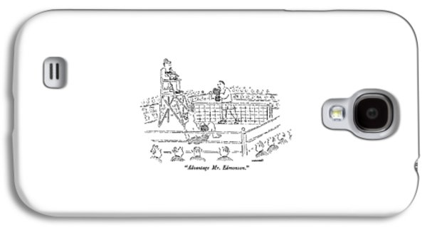Advantage Mr. Edmonson Galaxy S4 Case