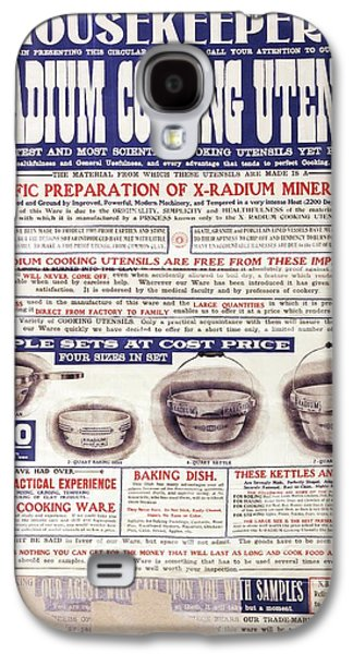 Advert For X-radium Cooking Pots Galaxy S4 Case by Library Of Congress