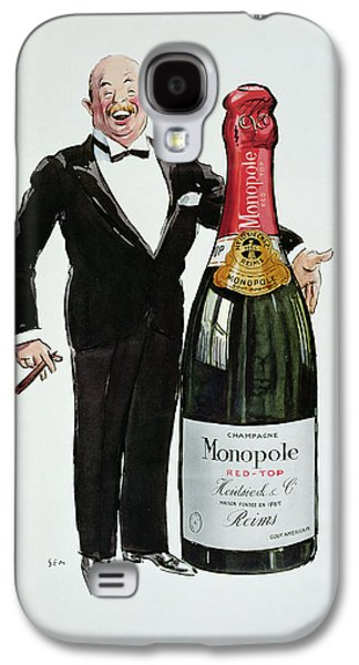 Advertisement For Heidsieck Champagne Galaxy S4 Case