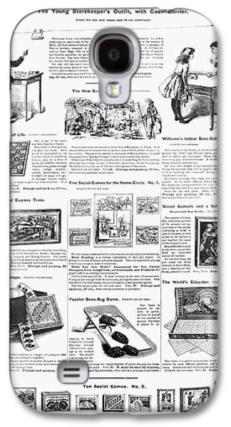 Advertisement Toys, 1890 Galaxy S4 Case