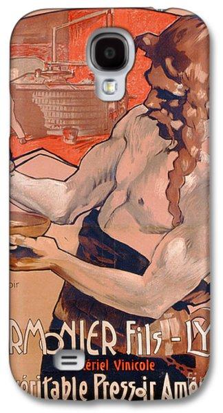 Advertisemet For Marmonier Fils Lyon Galaxy S4 Case by Adolfo Hohenstein