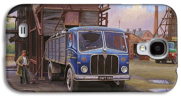 Aec Mercury Tipper. Galaxy S4 Case by Mike  Jeffries
