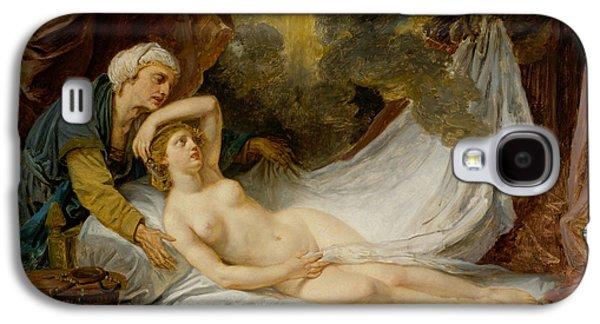 Aegina Visited By Jupiter Galaxy S4 Case by Jean-Baptiste Greuze