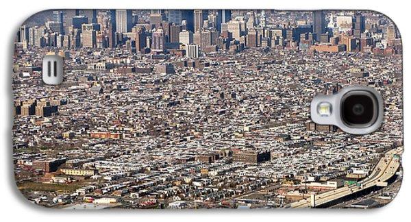Aerial Philadelphia Galaxy S4 Case by Olivier Le Queinec