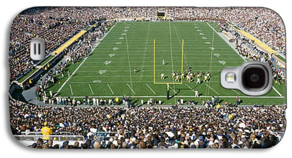 Aerial View Of A Football Stadium Galaxy S4 Case by Panoramic Images