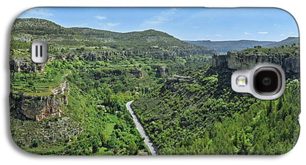 Aerial View Of A Valley, Rincon Seco Galaxy S4 Case