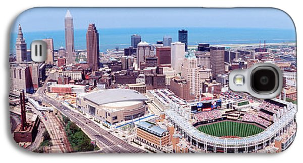 Aerial View Of Jacobs Field, Cleveland Galaxy S4 Case by Panoramic Images