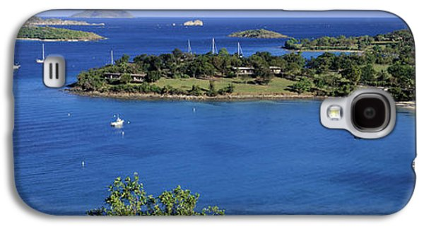 Aerial View Of Sailboats In The Sea Galaxy S4 Case by Panoramic Images