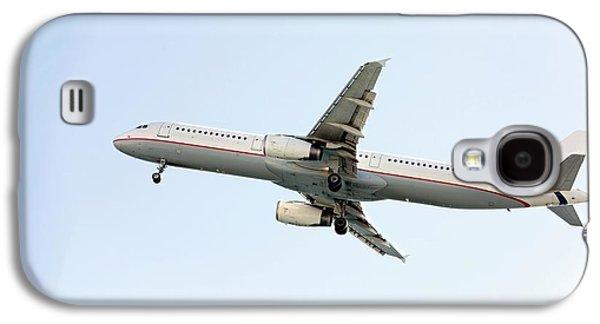 Aeroplane In Sky Galaxy S4 Case by Wladimir Bulgar