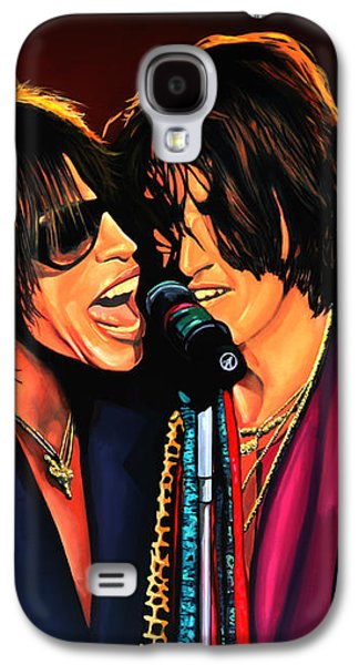 Aerosmith Toxic Twins Painting Galaxy S4 Case