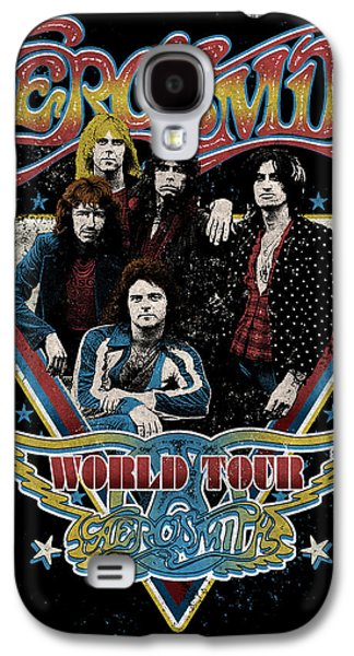 Aerosmith - World Tour 1977 Galaxy S4 Case by Epic Rights