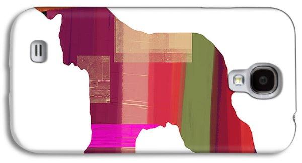 Afghan Hound 2 Galaxy S4 Case by Naxart Studio