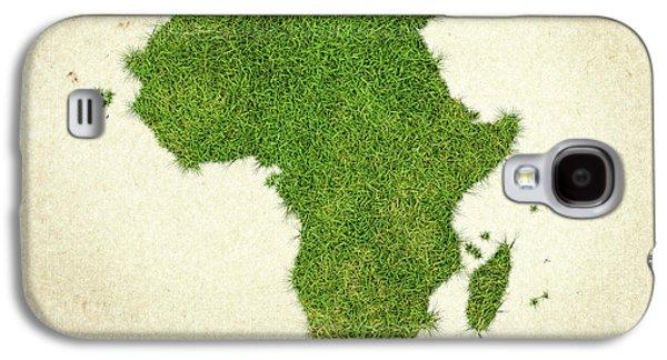 Africa Grass Map Galaxy S4 Case