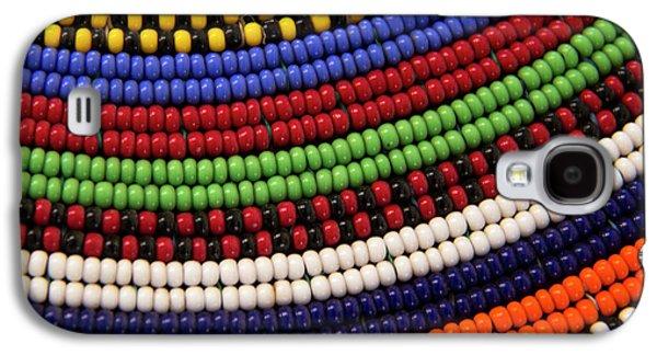 Africa, Kenya Maasai Tribal Beads Galaxy S4 Case by Kymri Wilt