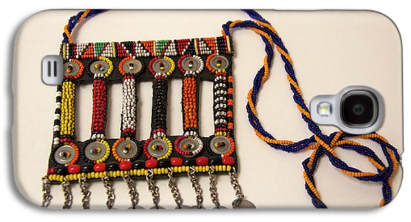 Africa, Kenya Maasai Tribal Beadwork Galaxy S4 Case by Kymri Wilt