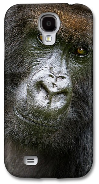 Africa Rwanda Female Mountain Gorilla Galaxy S4 Case by Ralph H. Bendjebar