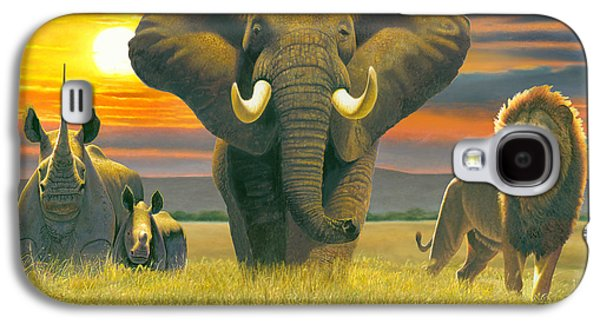 Africa Triptych Variant Galaxy S4 Case