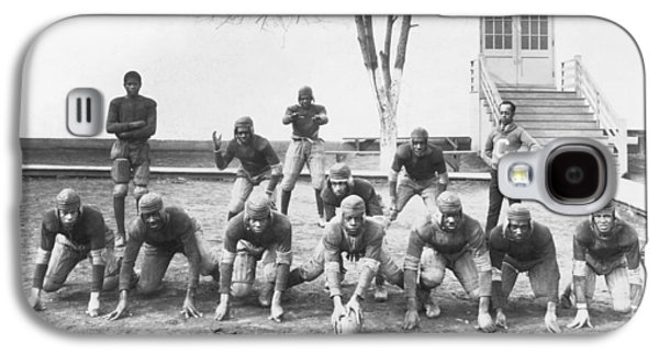 African American Football Team Galaxy S4 Case by Underwood Archives