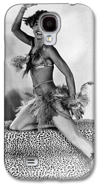 African American Woman Dancer Galaxy S4 Case