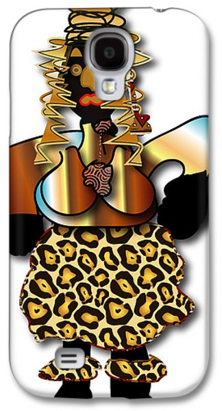 Galaxy S4 Case featuring the digital art African Dancer 2 by Marvin Blaine