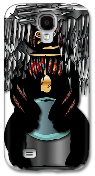 Galaxy S4 Case featuring the digital art African Drummer 2 by Marvin Blaine