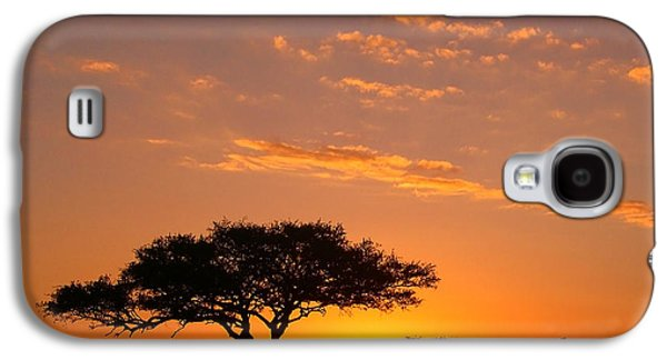 African Sunset Galaxy S4 Case by Sebastian Musial