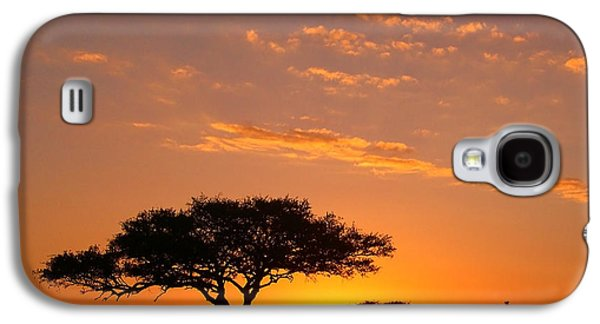 African Sunset Galaxy S4 Case
