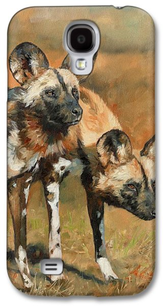 African Wild Dogs Galaxy S4 Case