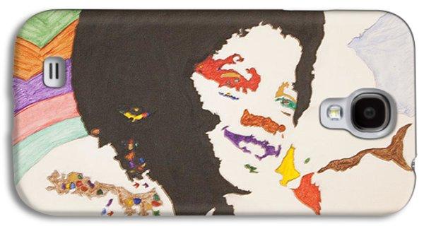 Afro Michael Jackson Galaxy S4 Case by Stormm Bradshaw