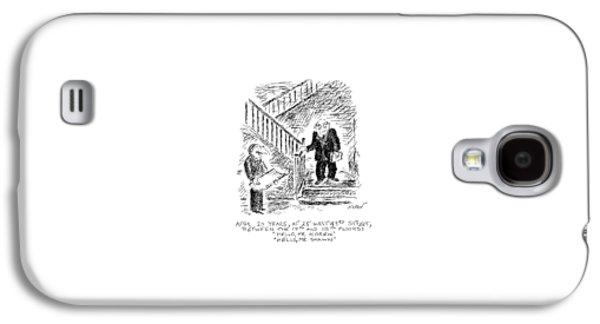 After 20 Years Galaxy S4 Case by Edward Koren