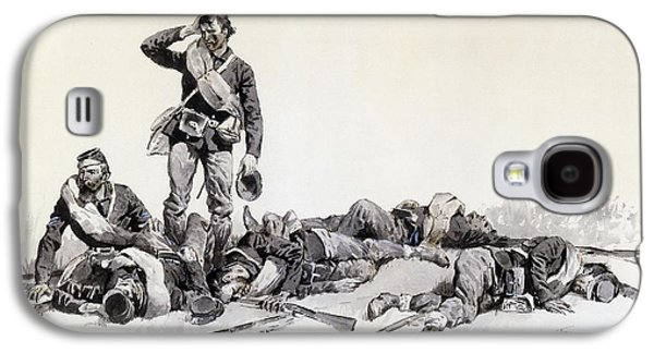 After The Battle Galaxy S4 Case by Frederic Remington
