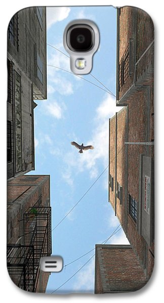 Afternoon Alley Galaxy S4 Case by Cynthia Decker