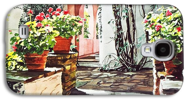 Afternoon Delight - Hotel Bel-air Galaxy S4 Case by David Lloyd Glover