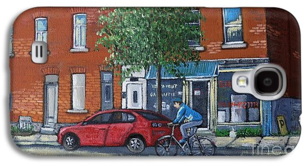 Afternoon Ride Pointe St Charles Galaxy S4 Case by Reb Frost
