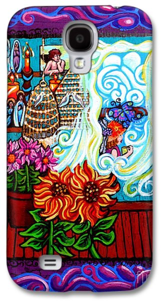 Afternoon Tea By The Window Galaxy S4 Case by Genevieve Esson
